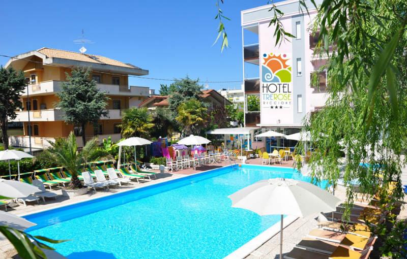 Ponte 25 aprile a riccione vacanze family - Hotel jesolo 3 stelle con piscina pensione completa ...