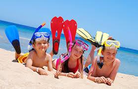 Hotel per bambini: Offerta 1' Settimana Agosto in hotel per famiglie Riccione con sconti bimbi da 4 a 17 anni a soli € 15,00 a notte
