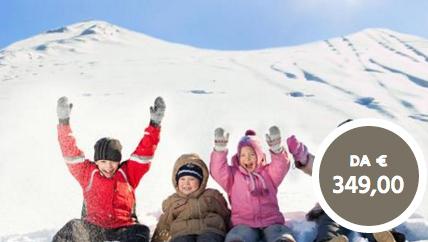Offerta vacanze veloci sulla neve
