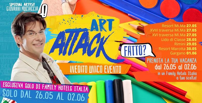 Art Attack Week Resort Lido