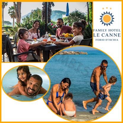 Settembre a Ischia a tutto sole spiaggia inclusa e bimbi gratis