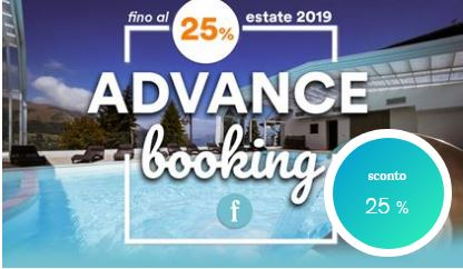 Prenota prima e risparmia ADVANCE Booking