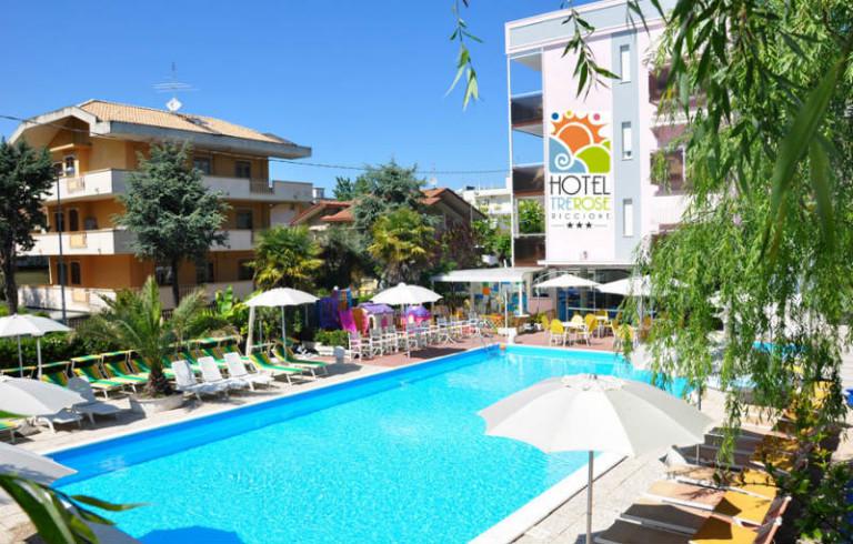 Family hotel 3 stelle riccione vacanze family - Hotel con piscina a riccione ...