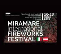 Miramare festival internazionale fuochi d'artificio